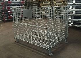 折叠式仓库笼采用的材料