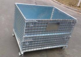 防漏油折叠式仓库笼